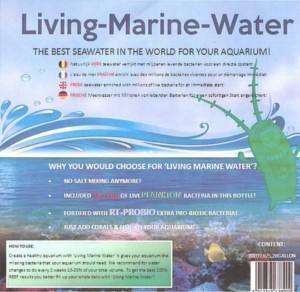 levend zeewater