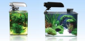 Cocoon aquaria